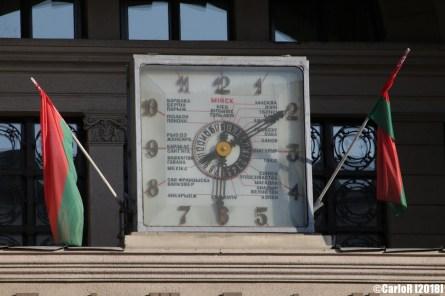 Minsk Belarus Lenin Square Post Office