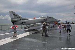 USS Lexington Skyhawk