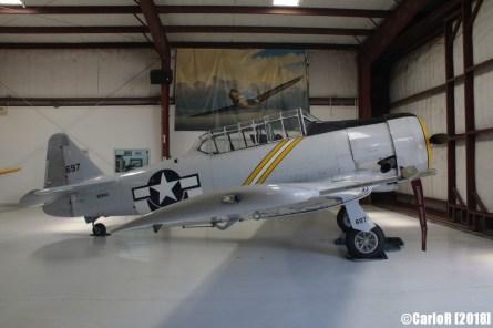 Cavanaugh Flight Museum Texan