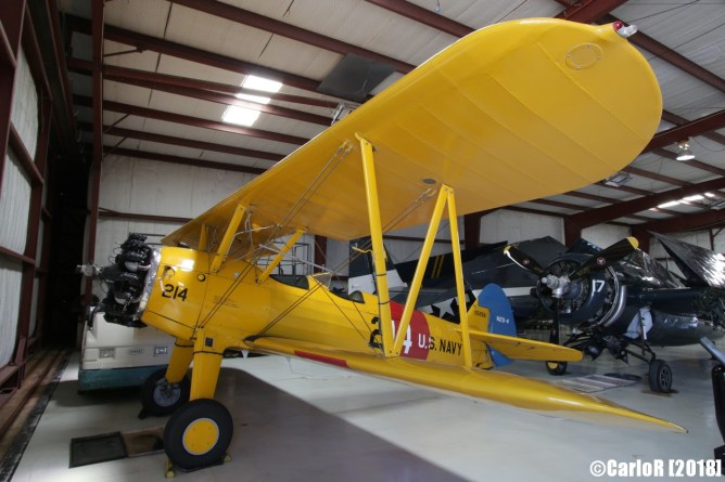 Cavanaugh Flight Museum Stearman
