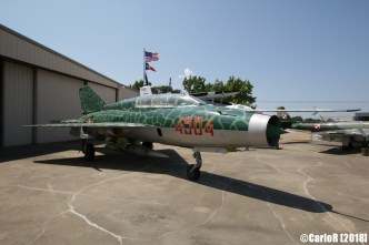 Cavanaugh Flight Museum MiG-21