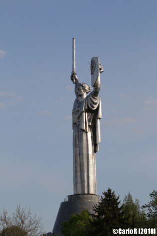 Kiev Monument Victory Soviet Statue Gigantic Patriotic War