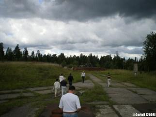 Dvina Plokstine SS-4 Sandal Soviet Missile Base Lithuania Cold War Old Before Restoration
