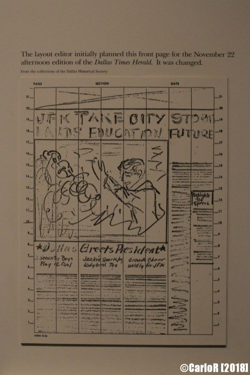 Sixth Floor Museum Dallas Kennedy Assassination Oswald Paper Protest