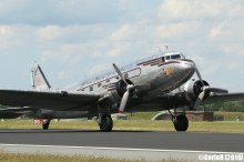 Jagel Spotterday 2019 70th Anniversary Berlin Airlift Douglas DC-3A NC24320 Johnson Flying Service Inc.
