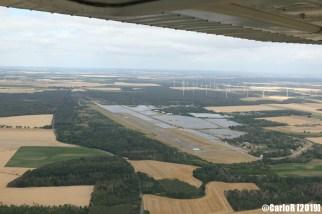 Falkenberg Abandoned Soviet Base East Germany (DDR) - Aerial View Picture Luftbild
