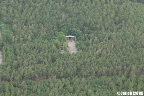 Finsterwalde Abandoned Soviet Base East Germany (DDR) Nuclear Bunker - Aerial View Picture Luftbild