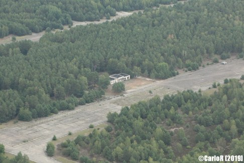 Sperenberg Soviet Airlift Air Force Base Transport Abandoned East Germany (DDR) - Aerial View Picture Luftbild