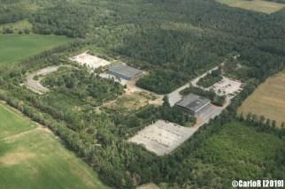 Juterbog/Niedergörsdorf Soviet NVA Air Force Base Abandoned East Germany (DDR) - Aerial View Picture Luftbild
