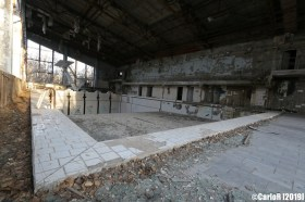 Ghost Town Pool Pripyat Cold War Chernobyl Nuclear Power Plant Exclusion Zone