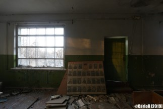 Isolated School Kindergarten Abandoned Cold War Chernobyl Nuclear Power Plant Exclusion Zone Pripyat