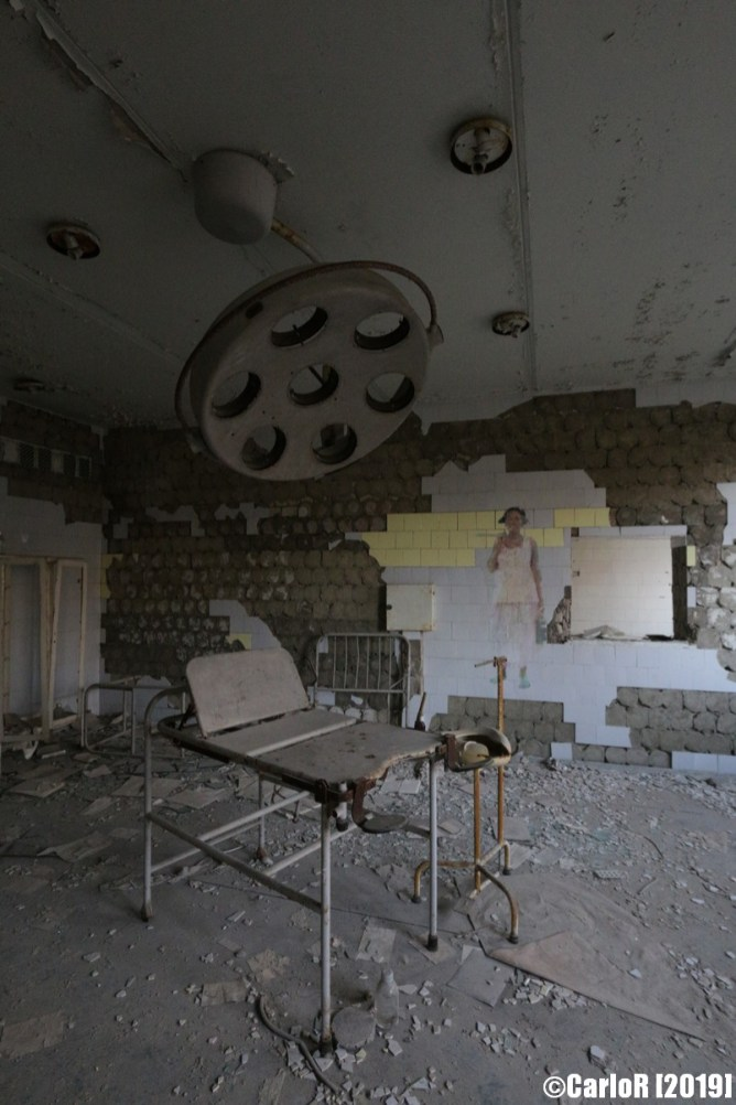 Ghost Town Hospital Gynecology Pripyat Cold War Chernobyl Nuclear Power Plant Exclusion Zone