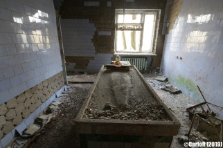 Ghost Town Hospital Morgue Pripyat Cold War Chernobyl Nuclear Power Plant Exclusion Zone