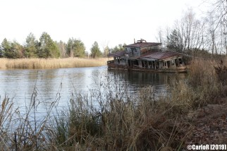 Ghost Town Floating Pier Pripyat Cold War Chernobyl Nuclear Power Plant Exclusion Zone