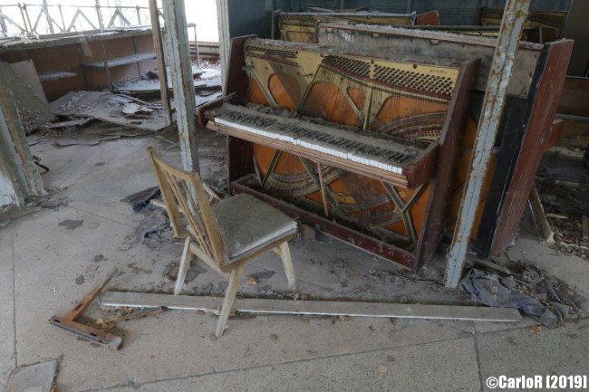 Ghost Town Piano Shop Pripyat Cold War Chernobyl Nuclear Power Plant Exclusion Zone