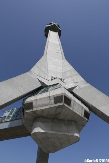 Avala Tower and Unknown Soldier Monument Belgrade Serbia