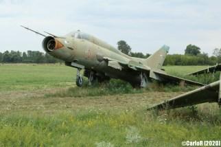 Papa Airbase Hungary Soviet Abandoned Airplanes Sukhoi Su-22 MiG-21