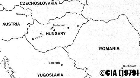 Soviet Nuclear Bunkers Hungary CIA 1979 Report