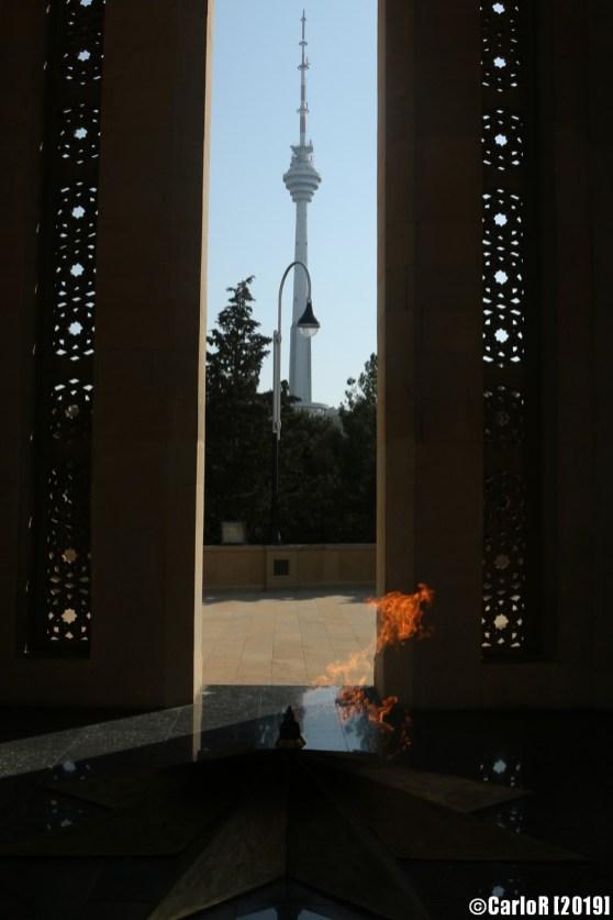 Shahidlar monument, Baku, Azerbaijan