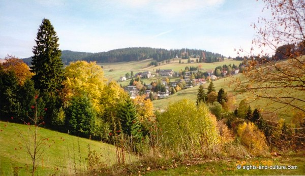 harz mountains and city of