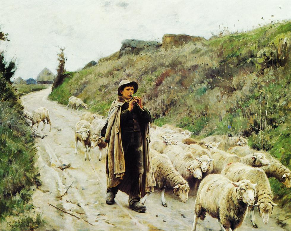 https://i0.wp.com/www.sightswithin.com/Charles.Sprague.Pearce/Return_of_the_Flock.jpg