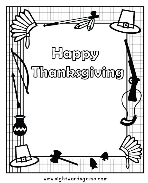 Fun Thanksgiving Activities