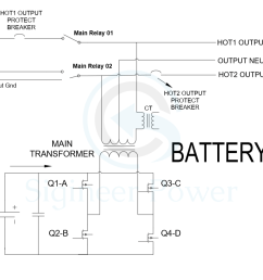 split phase inverter schematic of ac and inverter mode dual battery wiring diagram 50 rv wiring diagram split phase inverter [ 1394 x 897 Pixel ]