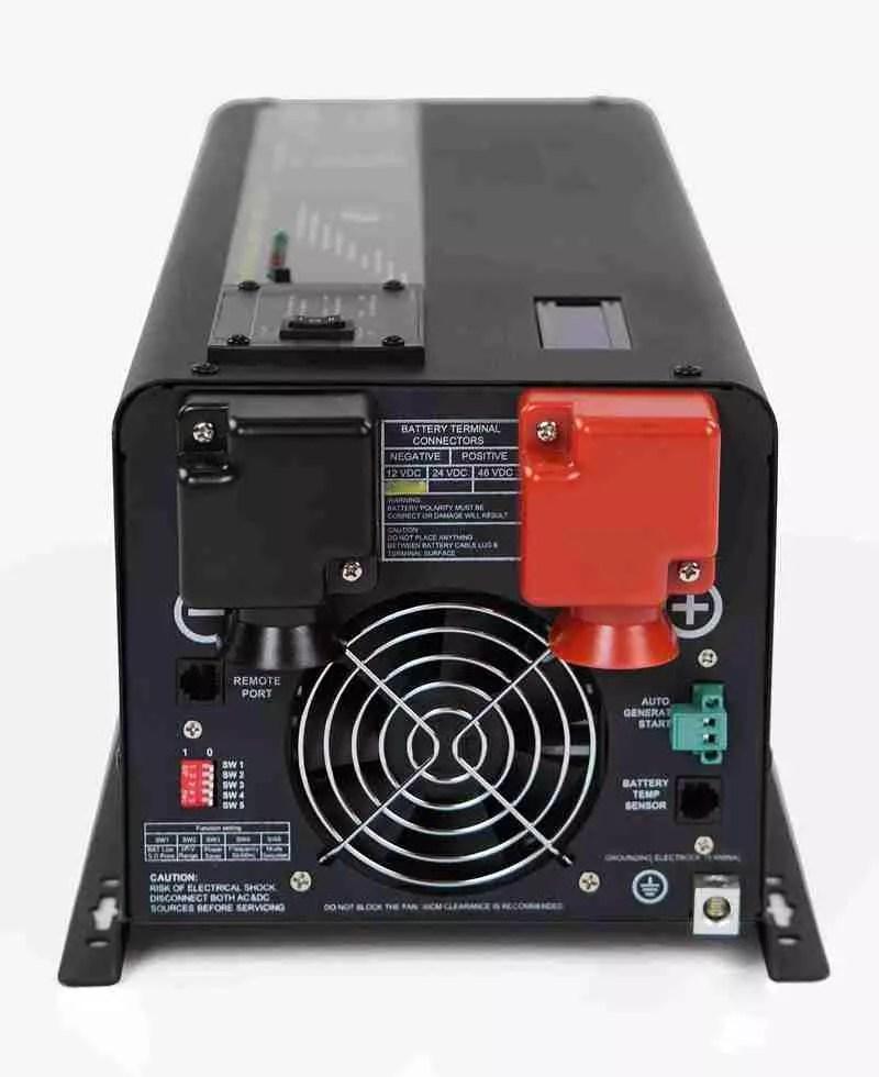 Wiring Diagram For 220v To 110v Converter 5000 Watt Power Inverter 12v 110v Lf Pure Sine Industrial