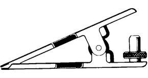 Ball joint clamp for Büchi® Rotavapor® evaporators Joint