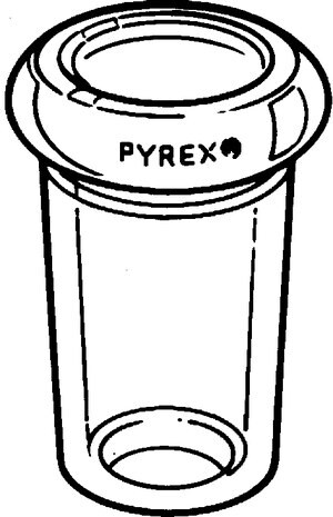Pyrex® bushing-type reducing adapter female Joint: ST/NS