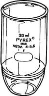 Pyrex® Gooch crucible, high form, with fritted disc