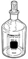 PYREXPLUS® narrow-mouth reagent bottle, with Pyrex® ST