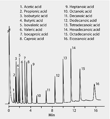GC Analysis of Short and Long Chain Free Fatty Acids on