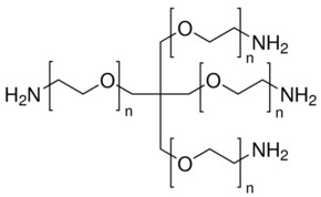 Poly(ethylene oxide), 4-arm, amine terminated average Mn