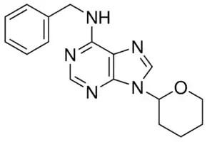 N-Benzyl-9-(2-tetrahydropyranyl)adenine plant cell culture