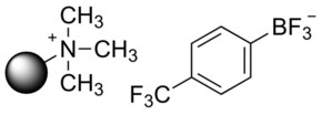 4-(Trifluoromethyl)phenyltrifluoroborate on Amberlyst A-26