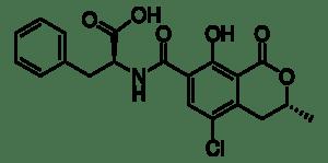 Ochratoxin A from Petromyces albertensis, ≥98% (HPLC