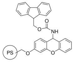 Sieber amide resin 50-100 mesh, extent of labeling: 0.3-0