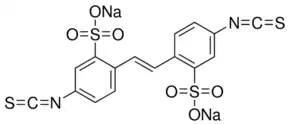 4,4′-Diisothiocyanatostilbene-2,2′-disulfonic acid disodium salt hydrate ≥80% (elemental