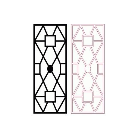 Dxf Pattern Designs 2d 155 Fichier DXF