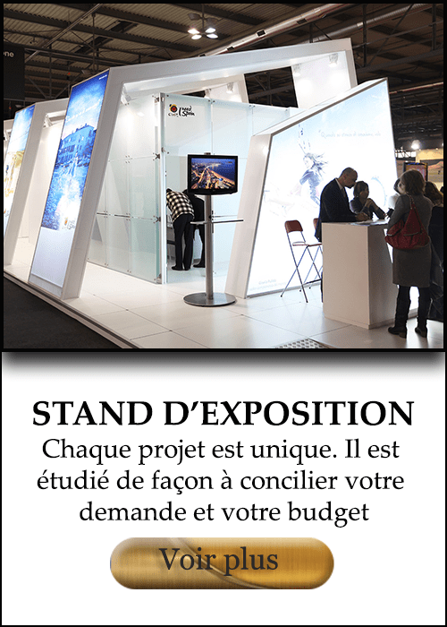 STAND D'EXPOSITION​