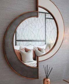 Miroir d'entrée moderne