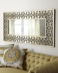 Miroir pour salon moderne