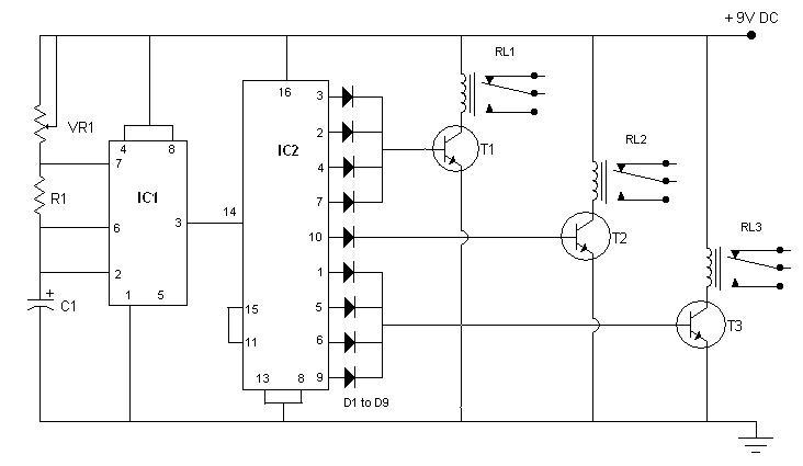 simple traffic light diagram gm 350 carburetor controller sigmatone circuit small