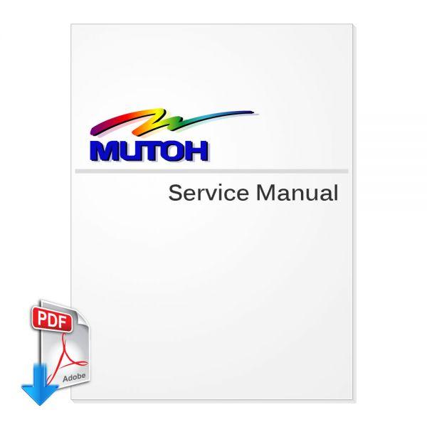 Free Download MUTOH VJ-1638W Service Manual (Direct