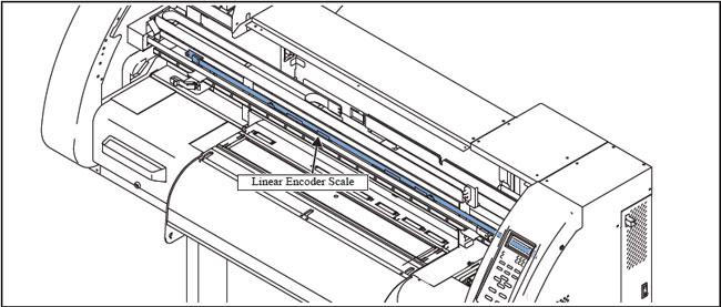 Mimaki JV-3-160 / CJV-30 Printer Linear Encoder Scale