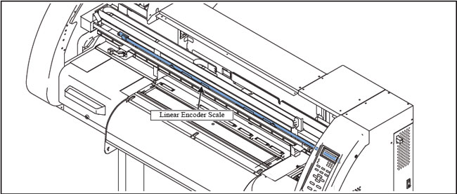 Mimaki JV3-160 / CJV30 Linear Encoder Scale OEM---2.6m