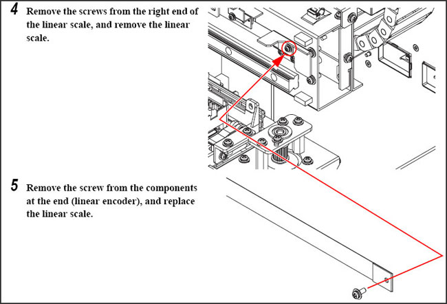 Mimaki Linear Encoder Scale for JV3-250-3.2m 180DPI $14.47