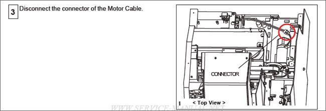 Roland Scan Motor for Roland VP-540 / VP-300 / RS-640 / SP