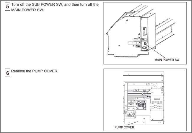 Generic Roland SP-300 / SP-540 Solvent Resistant Ink Pump